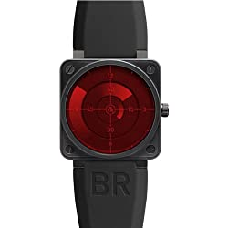 NEW BELL & ROSS AVIATION LIMITED EDITION AUTOMATIC MENS WATCH BR01-92 Red Radar