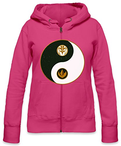 Tommy's Yin Yang Logo Womens Zipper Hoodie X-Large