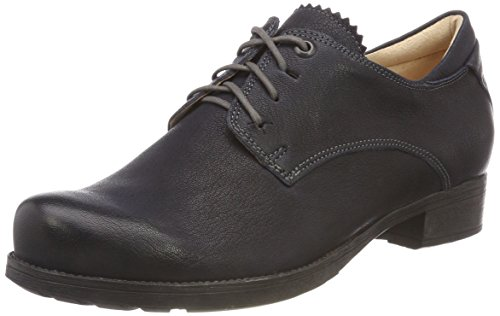 Think! Damen Denk_383019 Oxfords Blau (84 Navy/Kombi) 39 EU
