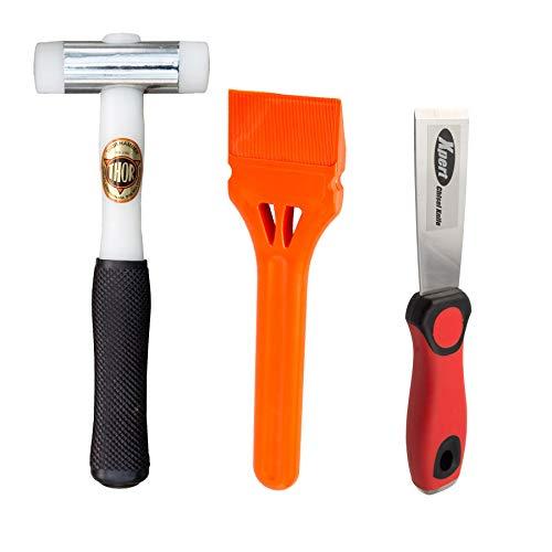 Kit herramientas acristalamiento ventanas martillo
