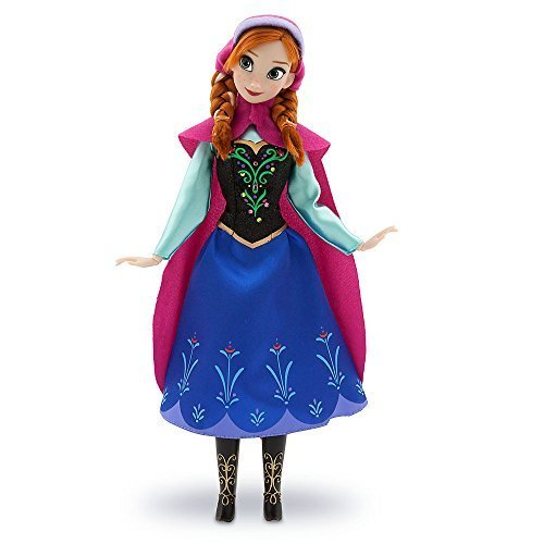 Disney Frozen / Die Eiskönigin - Anna Puppe - original Disney 30cm (USA Import) (Puppen Von Disney)