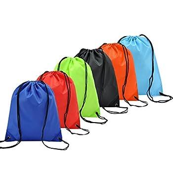 6 Pack Mochila Saco Bolsas...