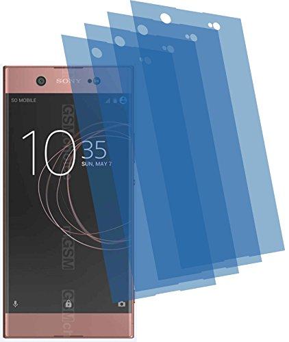 4ProTec 4X GEHÄRTETE ANTIREFLEX matt 3D Touch Schutzfolie für Sony Xperia XA1 Ultra Displayschutzfolie
