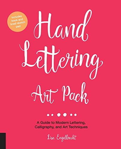 Hand lettering art pack par Lisa Engelbrecht
