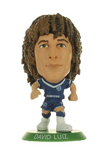 SoccerStarz Chelsea FC David Luiz Home Kit