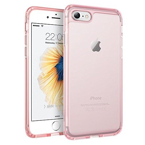 iPhone 7 Hülle (4,7 Zoll), ESR® Hybrid Hülle, Weiche TPU Rahmen mit Hart PC Zurück iPhone 7 Bumper Case Schutzhülle für iPhone 7 (Schwarz) Rosa