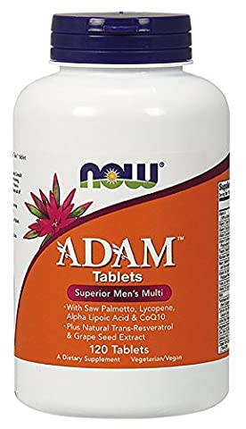 Now Foods, ADAM Superior Men?s Multiple Vitamin, 120 Tablets