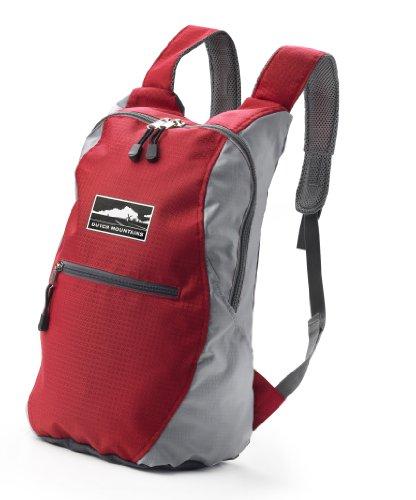 Multifunktionsrucksack, Trekking Rucksack, Schulrucksack, Sporttasche, Freizeitrucksack, City Rucksack (Rot)