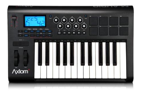 M-Audio Axiom 25 Mkii Advanced | 25-Tasten, halbgewichtet | USB MIDI Keyboard & Controller