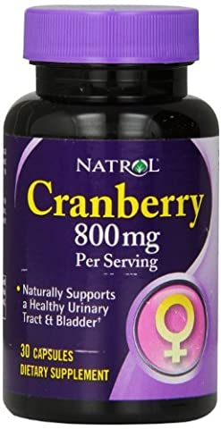 Natrol Cranberry 800 mg Capsules, 30-Count by
