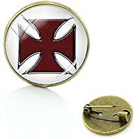 Patch Nation Cruz maltaise Cosplay Metall Pin Badge