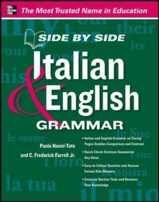 [(Side by Side Italian and English Grammar)] [By (author) Paola Nanni-Tate] published on (December, 2012)