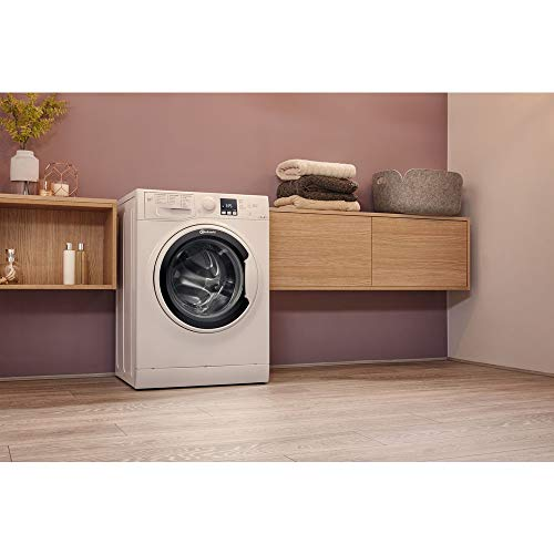 Bauknecht WA Soft 7F4 Waschmaschine Frontlader / A+++ / 1400 UpM / 7 kg / Weiß / langlebiger Motor / Nachlegefunktion / Wasserschutz - 7