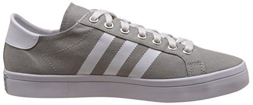 adidas Courtvantage, Chaussures de Basketball Homme, Bleu, 38 EU Mehrfarbig (Mgsogr/Ftwwht/Metsil)