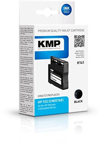 Preisvergleich Produktbild KMP Tintenkartusche für HP Officejet 6100/6600/6700, H141, black