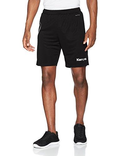Kempa Curve Herren Shorts, schwarz/Weiß, M