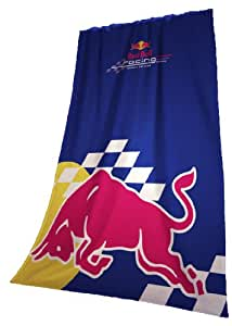 Global Labels 58 900 G RB5 120 Plaid polaire Red Bull 130 x 170 cm Bleu