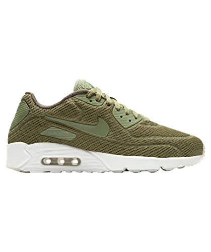 NIKE Air Max 90 Ultra 2.0 BR Sneaker Chaussures de sport Chaussures pour Homme Oliv (Trooper/Summit White)