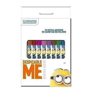 Minions- boite de 10 feutres de couleur