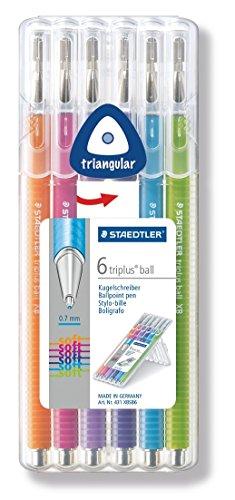 STAEDTLER 431 XBSB6 – Pack de 6 bolígrafos