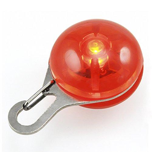 DIGIFLEX LED-Blinklicht für Hundehalsband für Haustier Hund Katze Halsband rot - 5