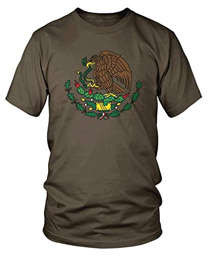 Men's Coat of Arms of Mexico, Mexican Coat of Arms T-Shirt S