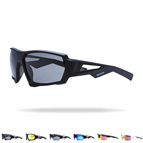 NAKED Optics Sportbrille (Fullframe Black/Lens Black)