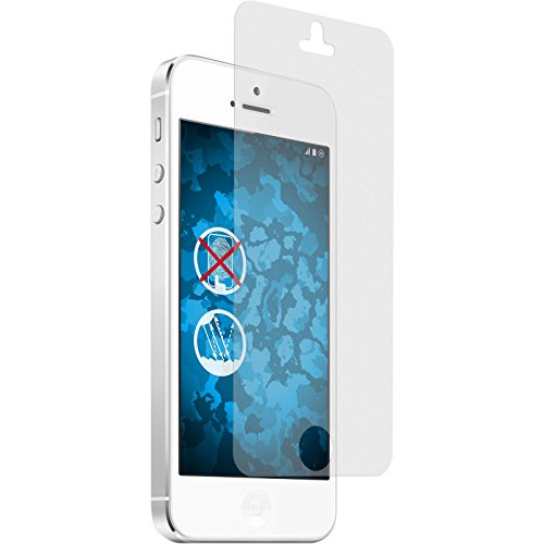 4 x Apple iPhone 5s Pellicola Protettiva Antiriflesso - PhoneNatic Pellicole Protettive iPhone 5s