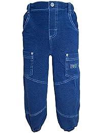 FIXONI - Pantalons thermiques pantalon bleu de garçon
