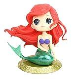 MissGood Mermaid Doll Cake Topper Figure for Wedding Compleanno per Bambini Baby Shower Mermaid Decorazione per Feste a Tema