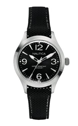 Nautica Women's Quartz Watch with Silicone A11093M