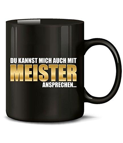 Golebros Du Kannst Mich auch mit Meister ansprechen 6120 Handwerker Kollege Arbeit Fun Tasse Becher...