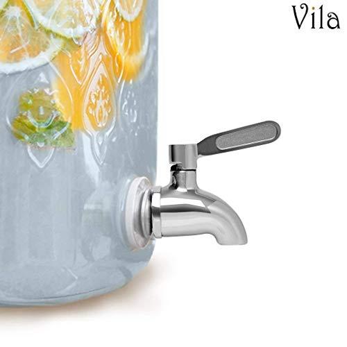 Vila - Dispensador bebidas repuesto boquilla acero