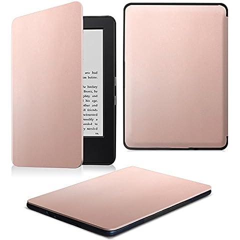 Fintie Funda Protectora para Kindle (7ª generación - modelo de 2014) - Ultra Slim Ligera Shell Funda Carcasa con Auto-Sueño / Estela Función para Amazon kindle 7th Generacion 6
