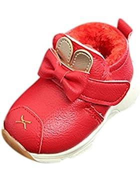 LuckyGirls Lederschuhe Turnschuhe Baby Schuhe Warm Infant Jungen Mädchen Martin Cartoon Sneaker Kinder Freizeitschuhe