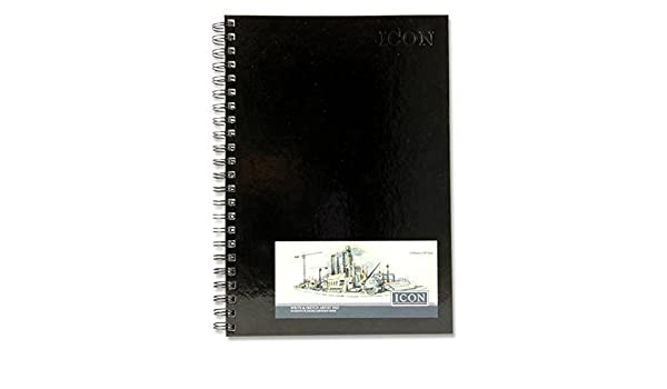 Premier Stationery Icon 135 GSM A4 50 Sheets Twin Wire Bound Sketch Pad
