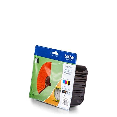 Preisvergleich Produktbild Brother LC-129 X L Value-Pack Tintenpatrone für Tintenstrahldrucker (schwarz,  Cyan,  Magenta,  gelb,  MFC-J6920DW,  100 Jahr (S))