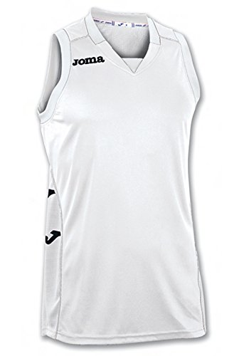 Joma Erwachsene Basketball Trikot 100049.200, weiß-(Blanco), L, 9995150344085