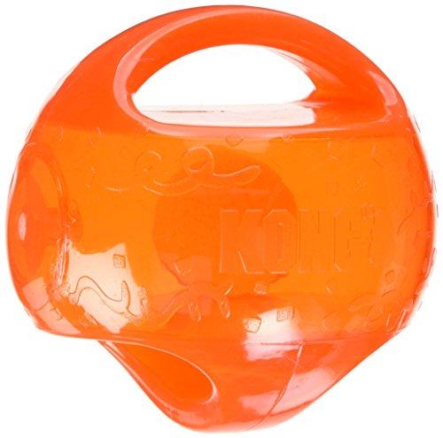 Kong Kong-Ball Jumbler M / L 14 cm zufällige Farbe (Kong Ball Hundespielzeug)