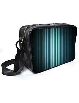 Snoogg Multicolor Design in schwarz Leder Unisex Messenger Bag für College Schule täglichen Gebrauch Tasche Material PU