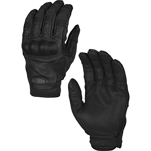 Oakley Guantes SI Tactical Touch Glove Black, Color Negro - Negro, tamaño XL