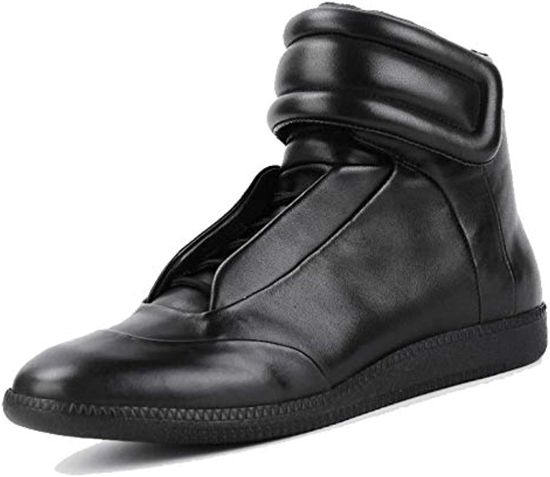 XYCSZQ Uomini, Scarpe di Cuoio, Scarpe Alte, Comfort, Comfort, Comfort, Moda, Pizzi, Resistenti all'Usura | Trasporto Veloce  fc7b78