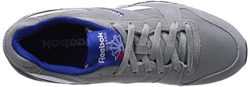 Reebok gl3000 m49788 scarpa uomo blu e rossa grau/royal