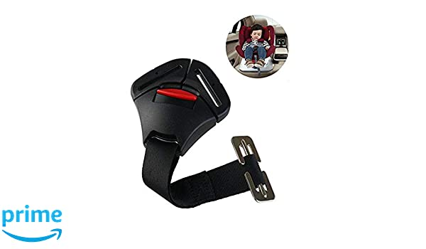 ISKIP Car Seats Crotch Buckle Toddlers Clip Fixed Lock Buckle Seat Safe Belt Strap Harness Chest for Babies and Children