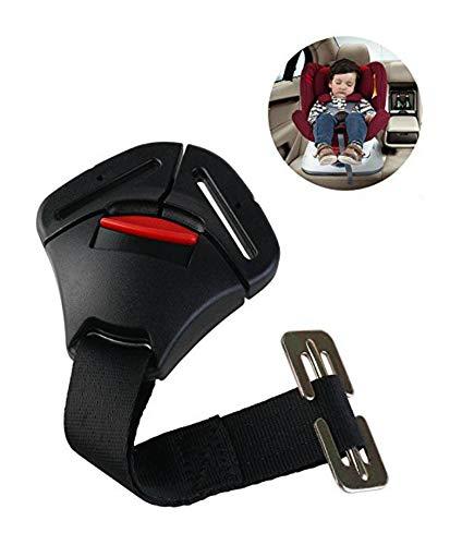 ISKIP - Fibbia per seggiolini auto, fibbia di bloccaggio fissa, cintura di sicurezza, pettorina per neonati, bambini e bamb