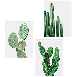 Lienzo de cactus