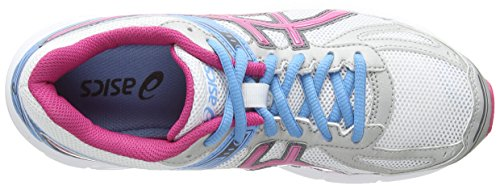 ASICS Patriot 7, Running Entrainement Femmes Blanc (White/Hot Pink/Soft Blue 120)