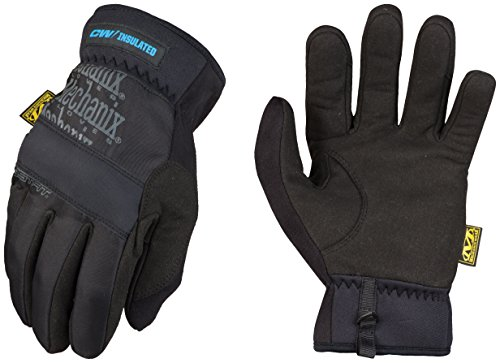 Mechanix Wear Winter FastFit isoliert, schwarz, MFF-95-008