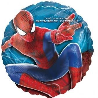 Amscan Amazing Spider-Man 2Standard HX Folie Ballons (Amazing Spider Man 2 Halloween Kostüme)