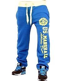 Original US-Marshall M-24 Marshall Trainingshose Herren & Damen Jogginghose Sporthose Fleecepant Fitness Hose von Tisey®